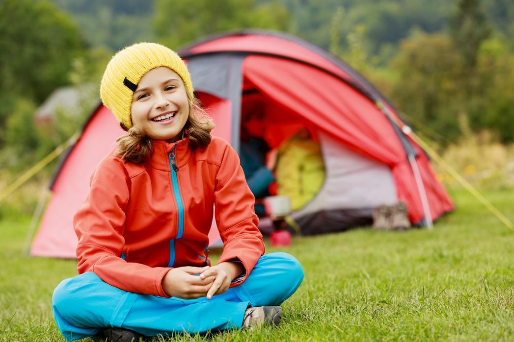 Pierwszy obóz dziecka